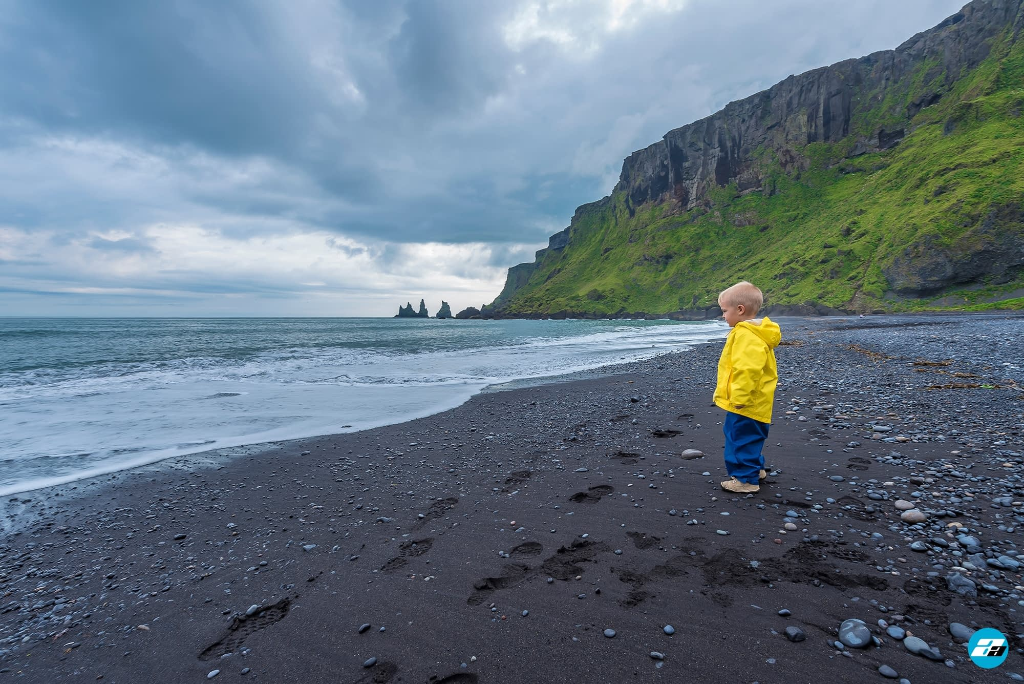 Iceland Travel, Ring Road, Reynisdrangar & Reynisfjara Black Beach