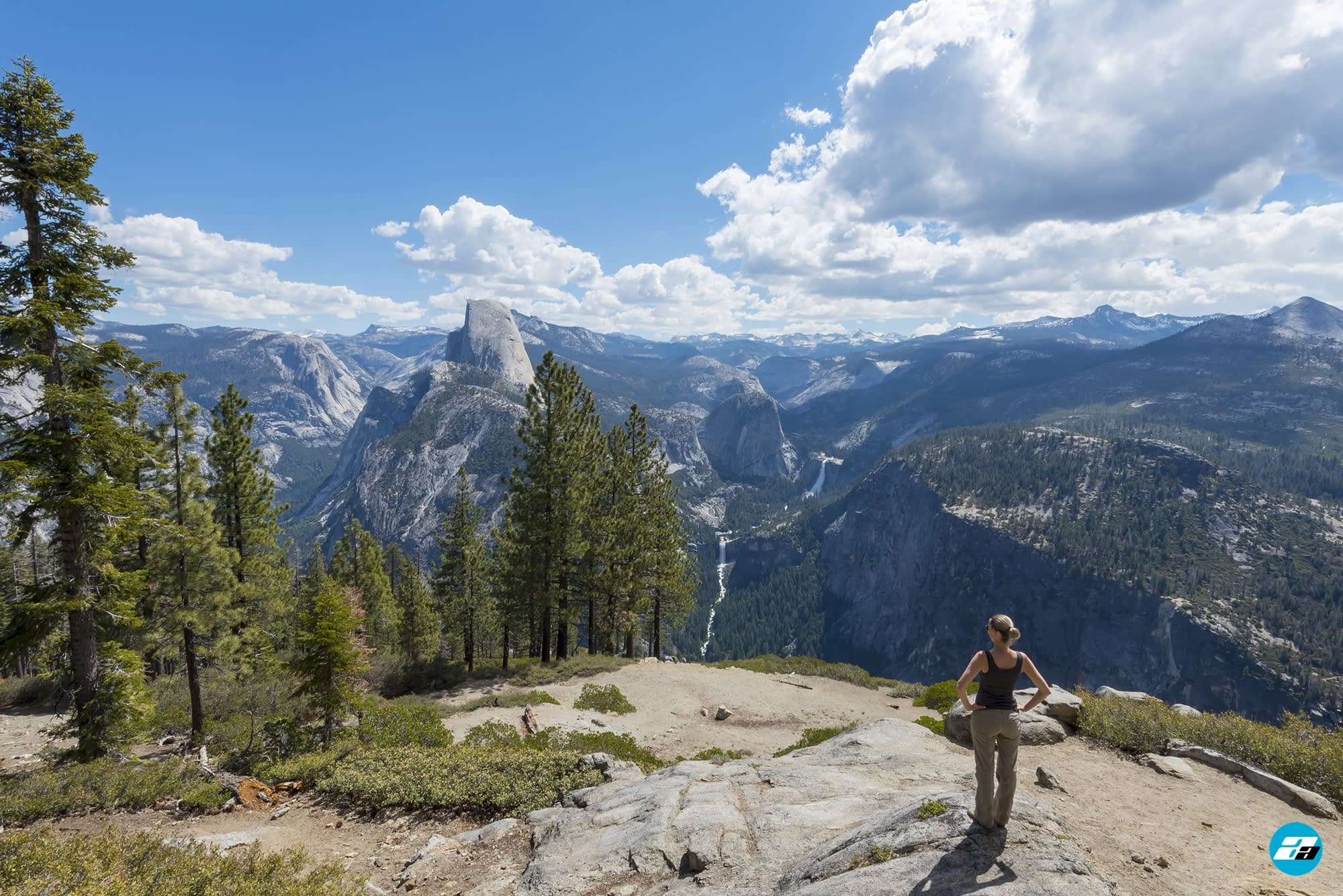 Yosemite National Park, California, USA. Landscape. Explorer. Solitude. Mountain View. Glacier Point. Canyon View.