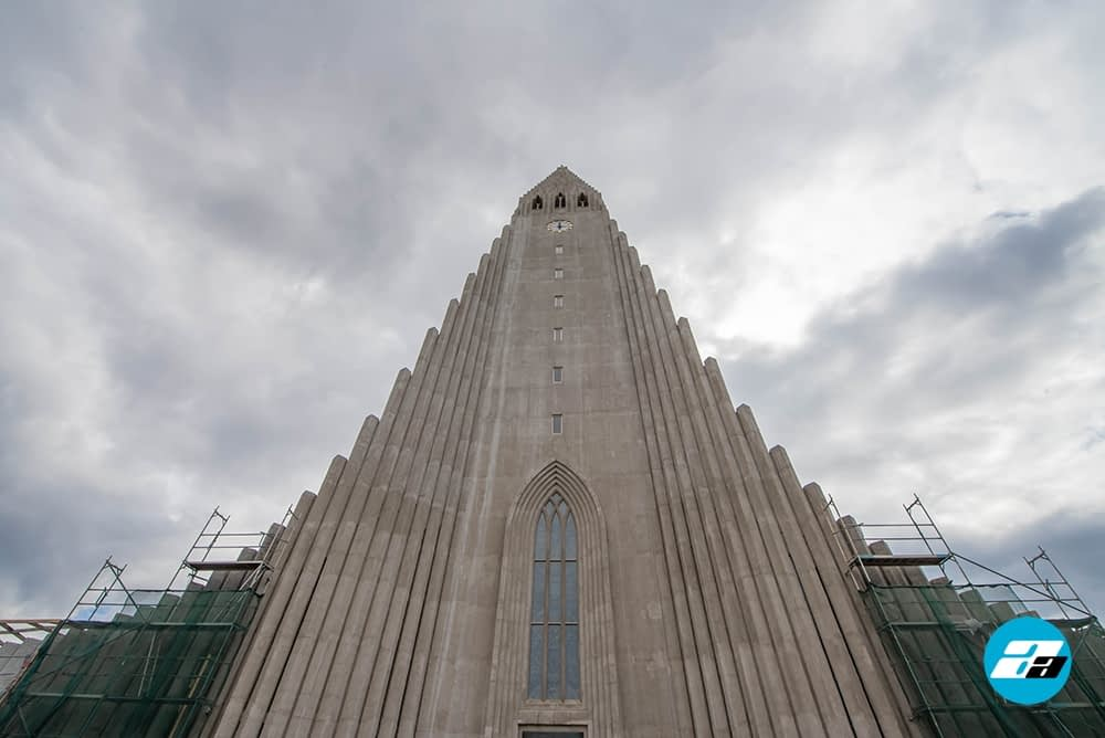 Hallgrimskirkja church, Iceland