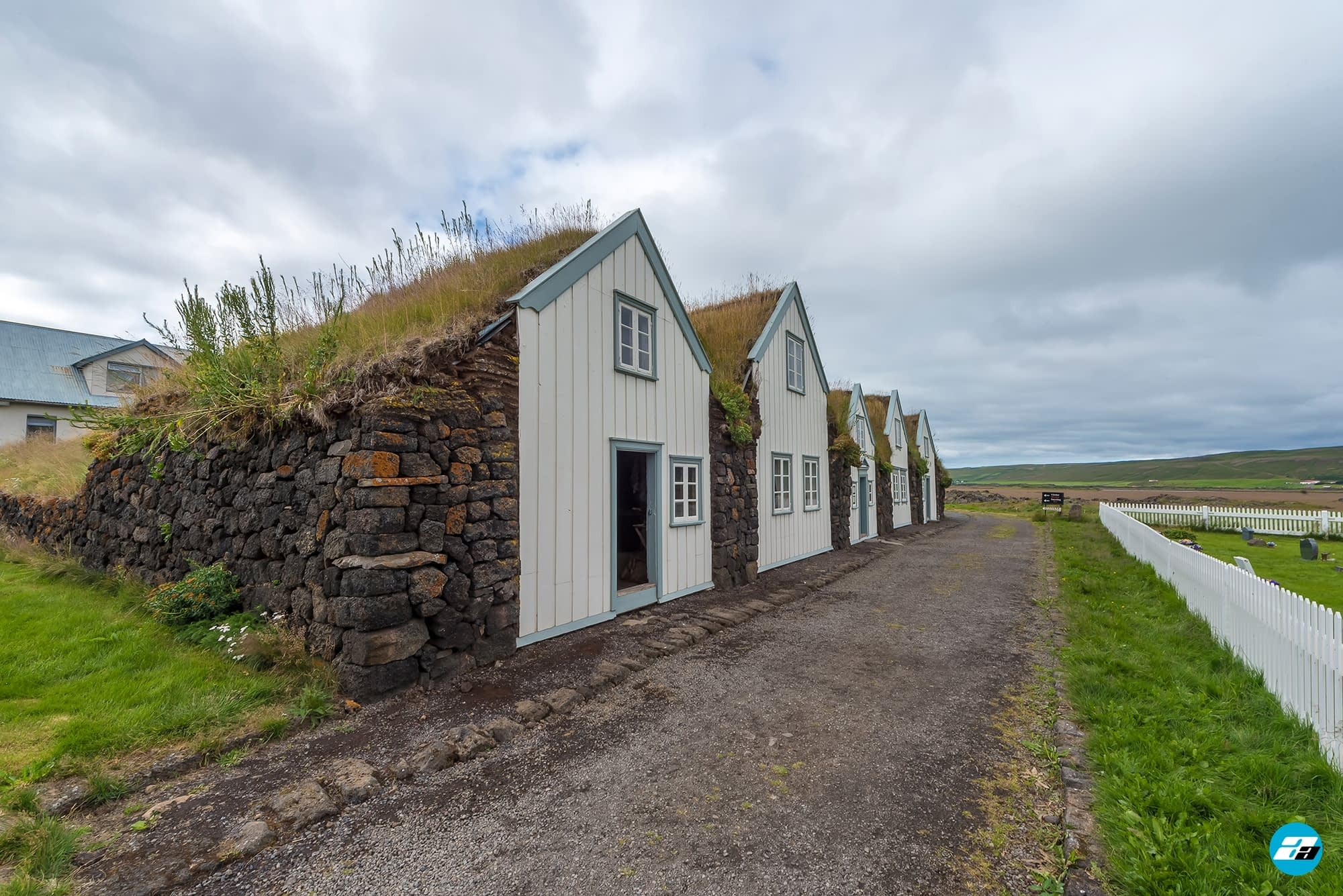 Iceland Travel, Ring Road, Turf Houses