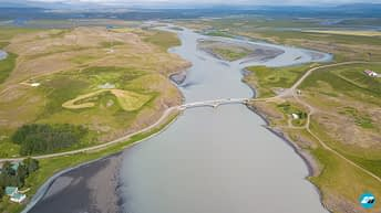 Iceland Travel, Ring Road, Aerial Photo