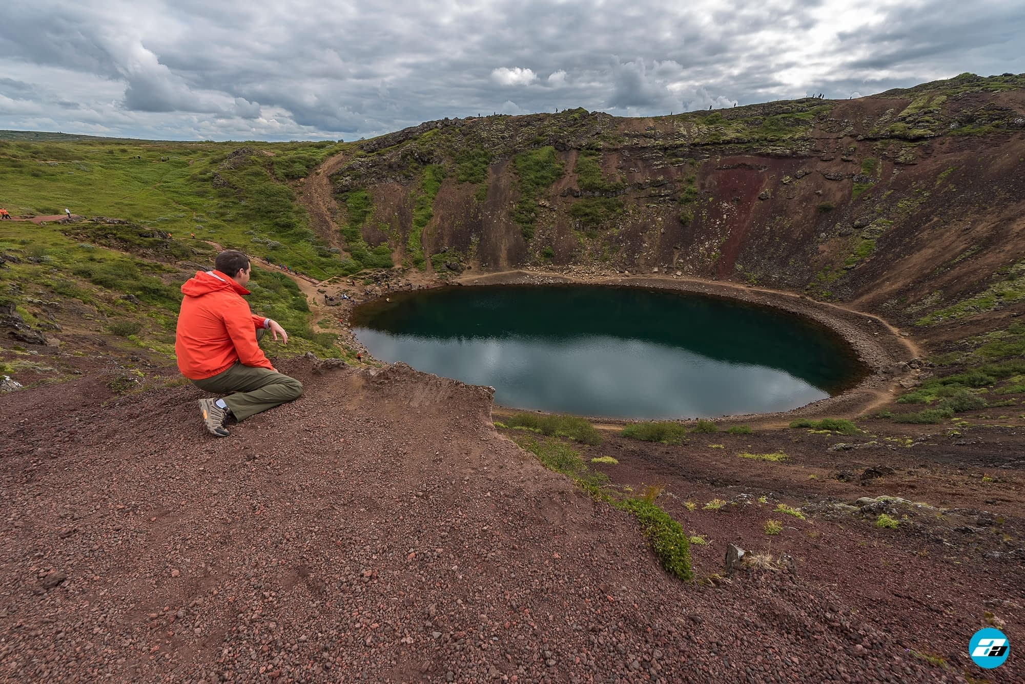 Iceland Travel, Ring Road, Kerið, Golden Circle